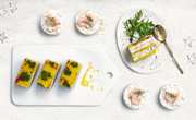 Waitrose King Prawn, Mango and Coconut Terrines and Waitrose Prawn Cheesecakes - Christmas 2017