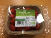Waitrose Duchy Organic tomato leaf and recycled cardboard punnet