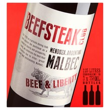 The Beefsteak Club Malbec Boxed Wine