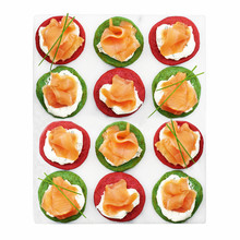 Waitrose 12 Smoked Salmon Blinis - Christmas 2017