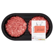 Waitrose 1 30 Day Aged Hereford Hand Pressed Beef Burger