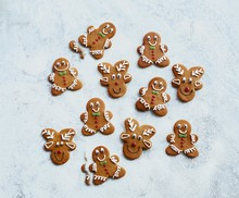 ​Gingerbread men & reindeer