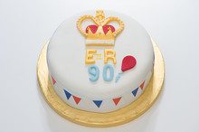 Waitrose Unveils Winning Design For The Queens 90th Birthday Cake