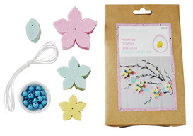 Easter waitrose make your own flower garland easter 2017 negle Image collections