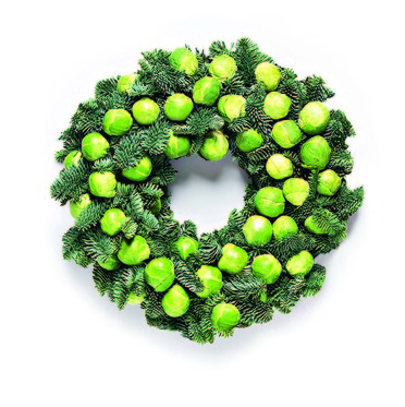 Sprout Wreath - Christmas 2017