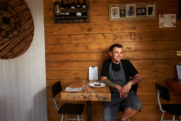 Good Food Guide 2018 - Ben Crittenden, Chef to Watch, Stark in Broadstairs - photo credit Simon Jacobs