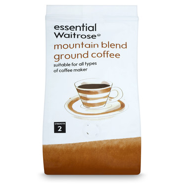 essential Waitrose Mountain Blend Ground Coffee
